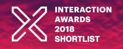 2018 Interaction Awards Shortlist