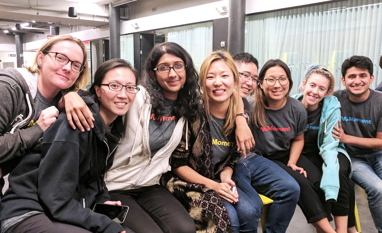 Moment Refugee Hack Summit Team